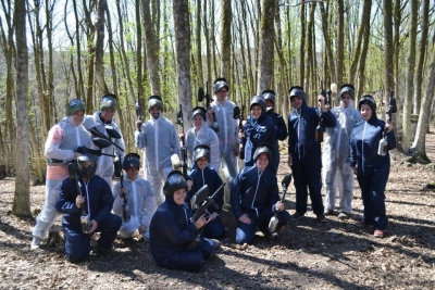 Paintball met de staf